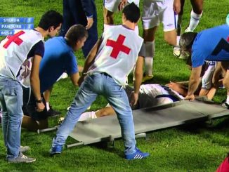 zdravotníka na fotbalový turnaj